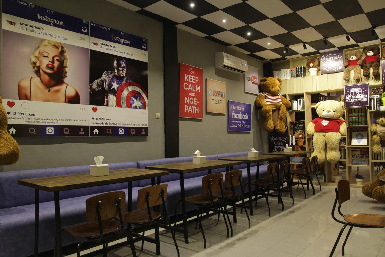 Jual Meja Cafe Medan